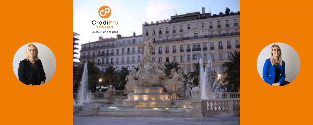 CrediPro Toulon, agence Varoise du réseau national de Courtiers, spécialistes du financement professionnel