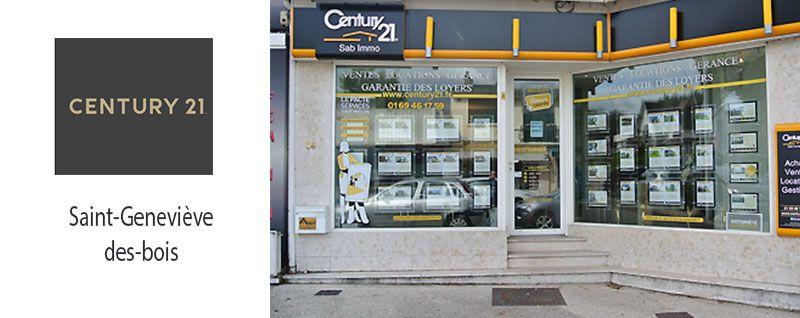 Reprise d'une agence Century 21 à Sainte-Geneviève-des-Bois