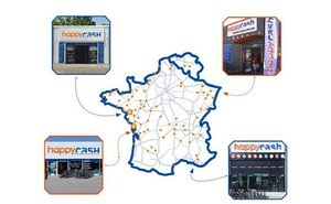 Happy Cash, implantation en France
