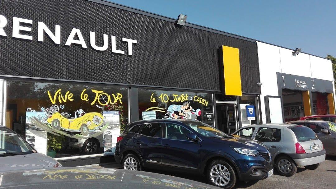 Garage Renault à Caden (56)