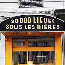 20 000 Lieues sous les bières