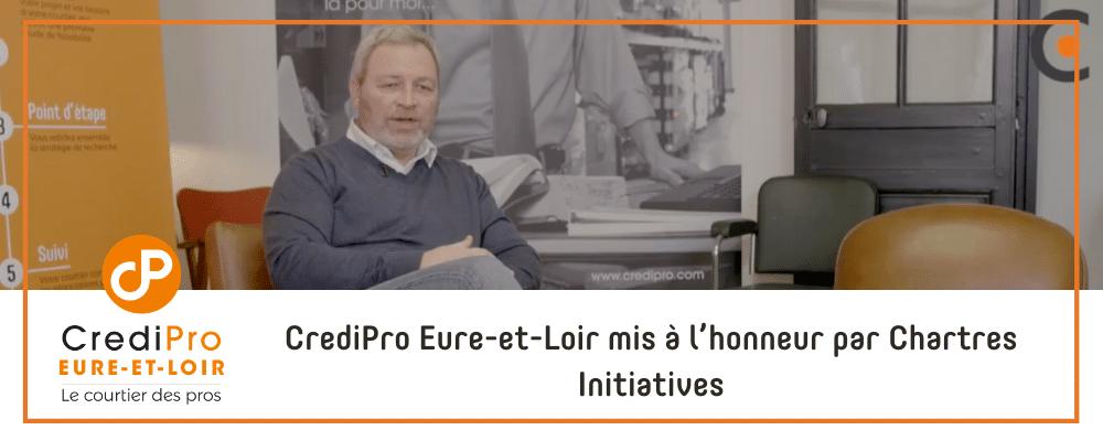 CrediPro Eure-et-Loir mis à l'honneur par Chartres Initiatives