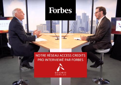 Notre réseau mise en avant dans Forbes Magazine