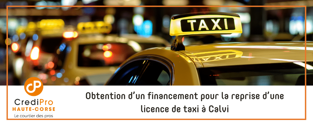 financement licence taxi